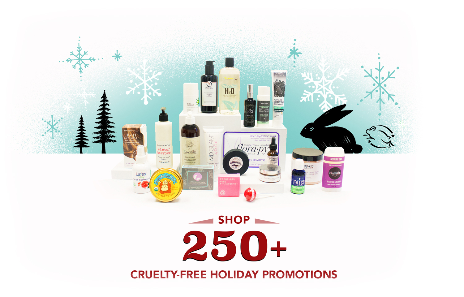 Shop 250+ Cruelty-Free Holiday Promotions
