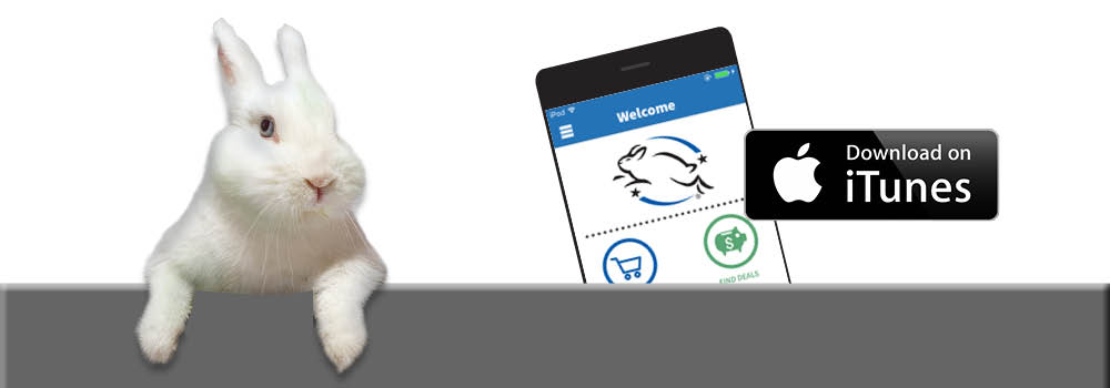 DOWNLOAD OUR CRUELTY-FREE APP FOR SMARTPHONES Leaping Bunny