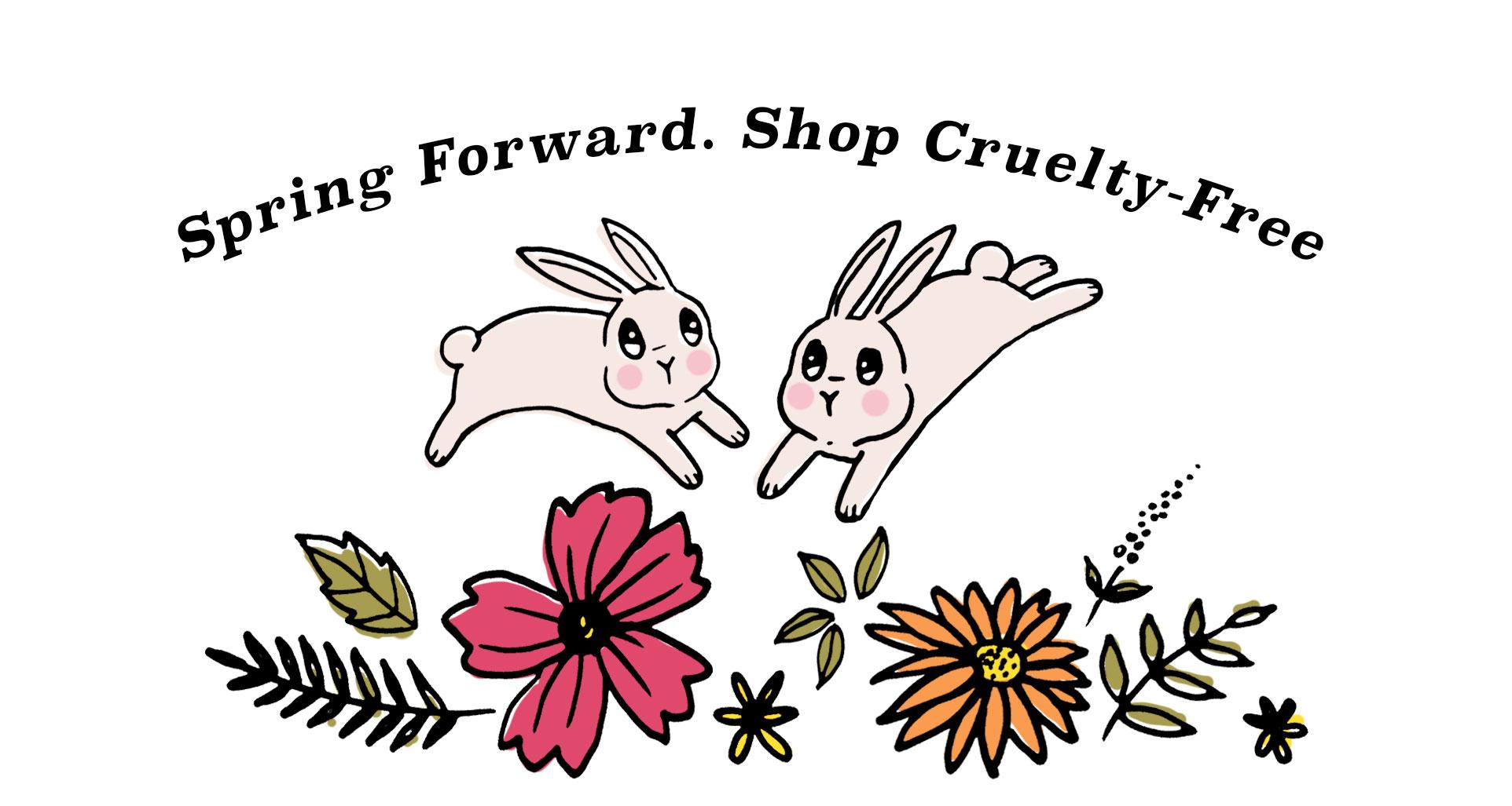 Spring Forward! Shop Cruelty-Free!
